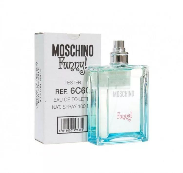 MOSCHINO FUNNY 100ML EDT WOMEN TESTER